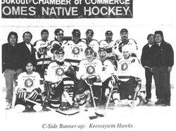 C Side Runners Up - Keewaywin Hawks