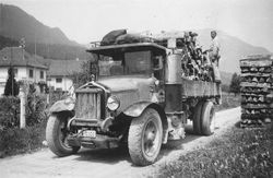 Early Wrecker Rig: