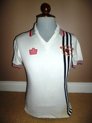 Admiral Match Worn Manchester United Away Centenary Shirt