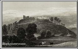 Dudley Castle. c1829.