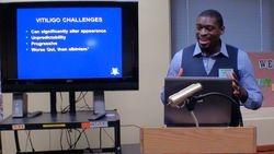 First speaker - Dr. Richard Huggins, Detroit, MI