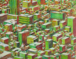 Aerials: Urban Tapestry (Bogota)