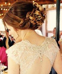 Stunning and stylish Elegant updo was chosen by Asni