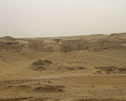 Giza : The Pyramid Workers Village