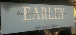 Earley Wedding Sign