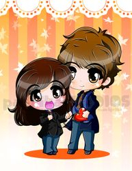 Chibi Christine and Hubby