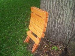 Pine 2 peice  camp chair