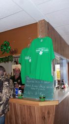 Alexander Keith's donated T-shirts for raffle.