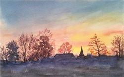 Winter horizon I, Capel