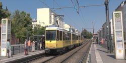 A pair of Tatra KT4Ds, in Ottobraunstraße.