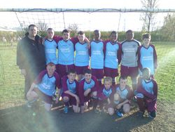 Comets Senior League & Cup Winners 09-10