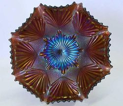Shell and Sand bowl, amethyst