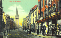 High Street Dudley. c 1907.