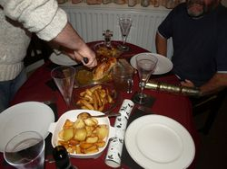 Early Christmas Dinner