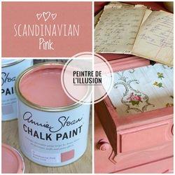 SScadinavian Pink Annie Sloan Chalk Paint