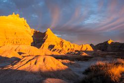 Sunrise in the Badlands by Beverly Hawkins (AC)