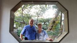 Us at Garden of Master of Nets in Suzhou