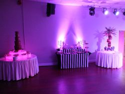 5 tier chocolate fountain, Dessert Table and Fruit Palm Tree Hire Grimsby