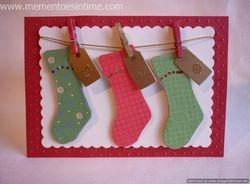 Trio of stockings