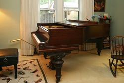 The client's piano