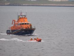A busy week for Portrush RNLI Lifeboats and Beach Lifeguards