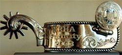 NRHA Trophy Spur