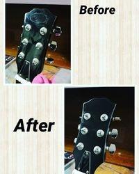 Guitar tidy up