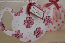 Teapot Cards - Flower