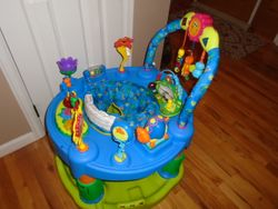 Evenflo ExerSaucer Triple Fun Active Learning Center - $50
