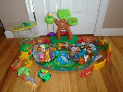 Fisher Price Little People A to Z Learning Zoo Playset - $55