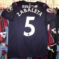 Pablo Zabaleta Premier League Asia Trophy 2019 3rd shirt
