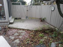 Before with the old deck