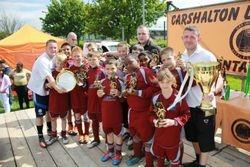 Crusaders Intermediate League & Plate Winners