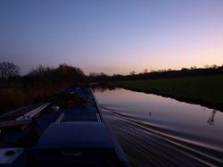 Cruising at twilight