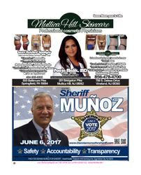 MULLICA HILL SKIN CARE/ DENNIS MUNOZ FOR SHERIFF