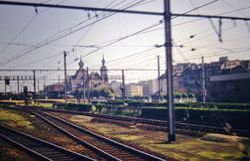 552 Belgian Town railway station