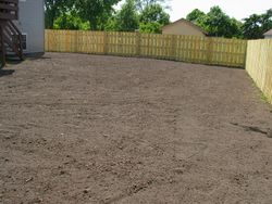 After - New Top Soil