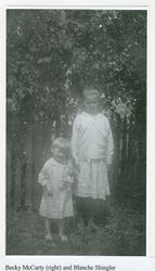 Becky McCarty and Blanche Shingler