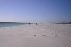 The white sands Beach at Cape Le Grande