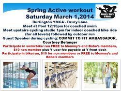 March 1 indoor triathlon