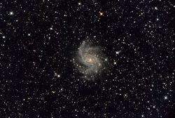 NGC 6946 w/SN 2017 eaw