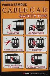 'Elf & Safety, Cable Car Style.