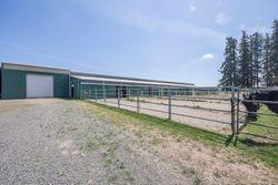 Arena Barn, Shavings bin & runs