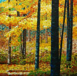 On the Escarpment 2.  48 x 48 inches