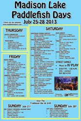 Schedule of Events 2013