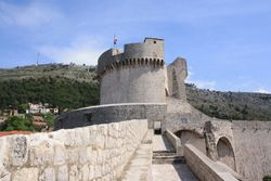 Fort Mincete, Tower on Dubrovnik Wall