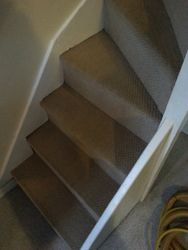 Stairs - after clean