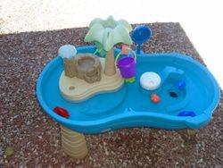 Step 2 Splish Splash Seas Water Table - $50