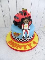 Monty's 4th Birthday Cake