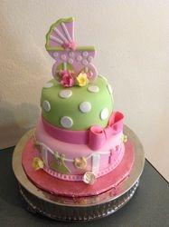 Millie's Baby Shower Cake